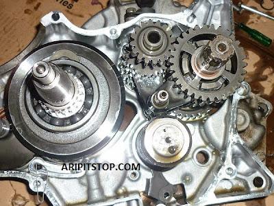 Jeroan cranksaft assy dan gearbox NVL