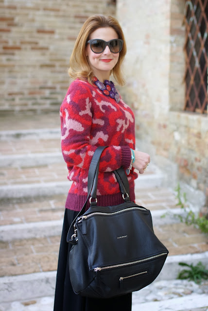 camouflage country look, Givenchy Pandora bag, Fashion and Cookies, fashion blogger