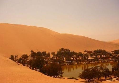 Unseen Beautiful Desert Village