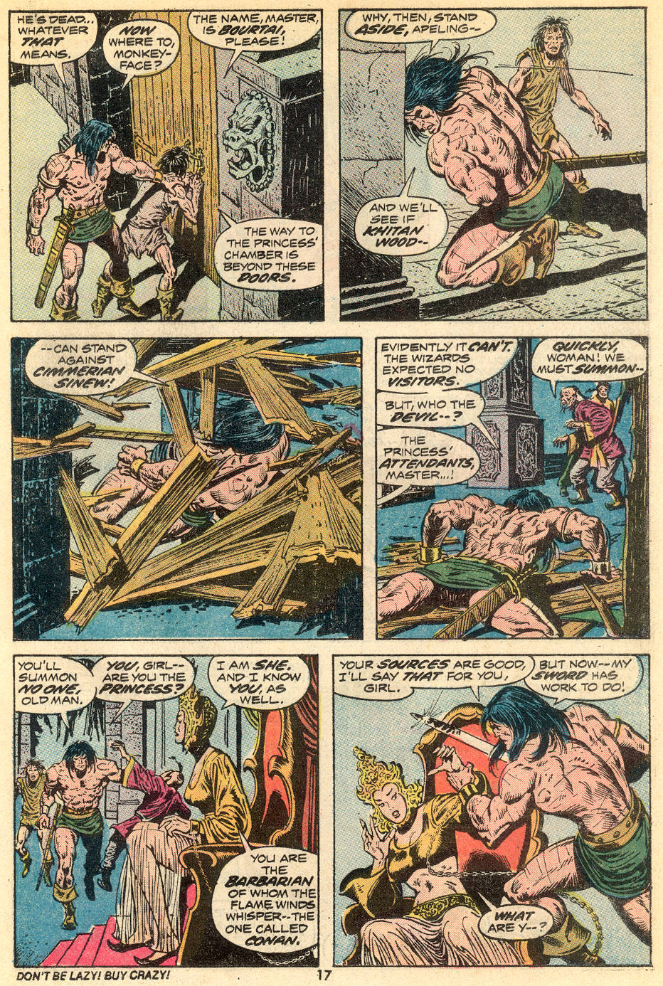 Conan the Barbarian (1970) Issue #34 #46 - English 12