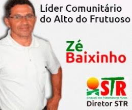 Líder Comunitário Zé Baixinho