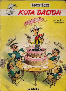 eBook Komik Lucky Luke - Kota Dalton