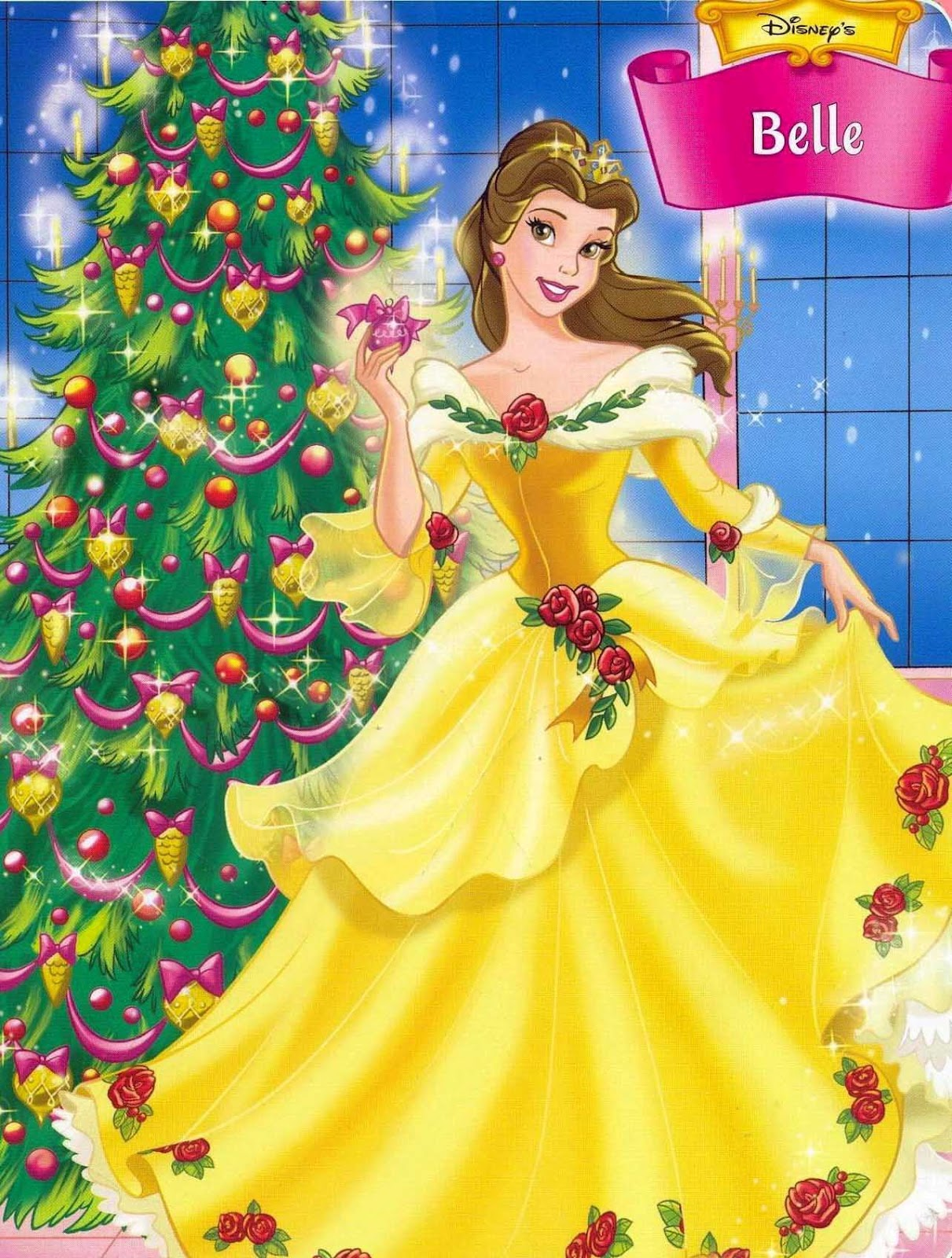 princess christmas ornaments personalized