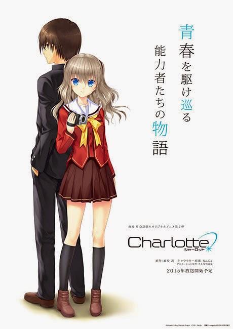 charlotte2 212x300 Previsão de estreia do anime Charlotte