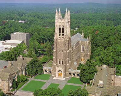 Duke Chapel – a Masterpiece in all Aspects
