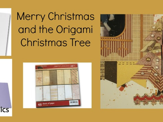Merry Christmas and the Origami Tree