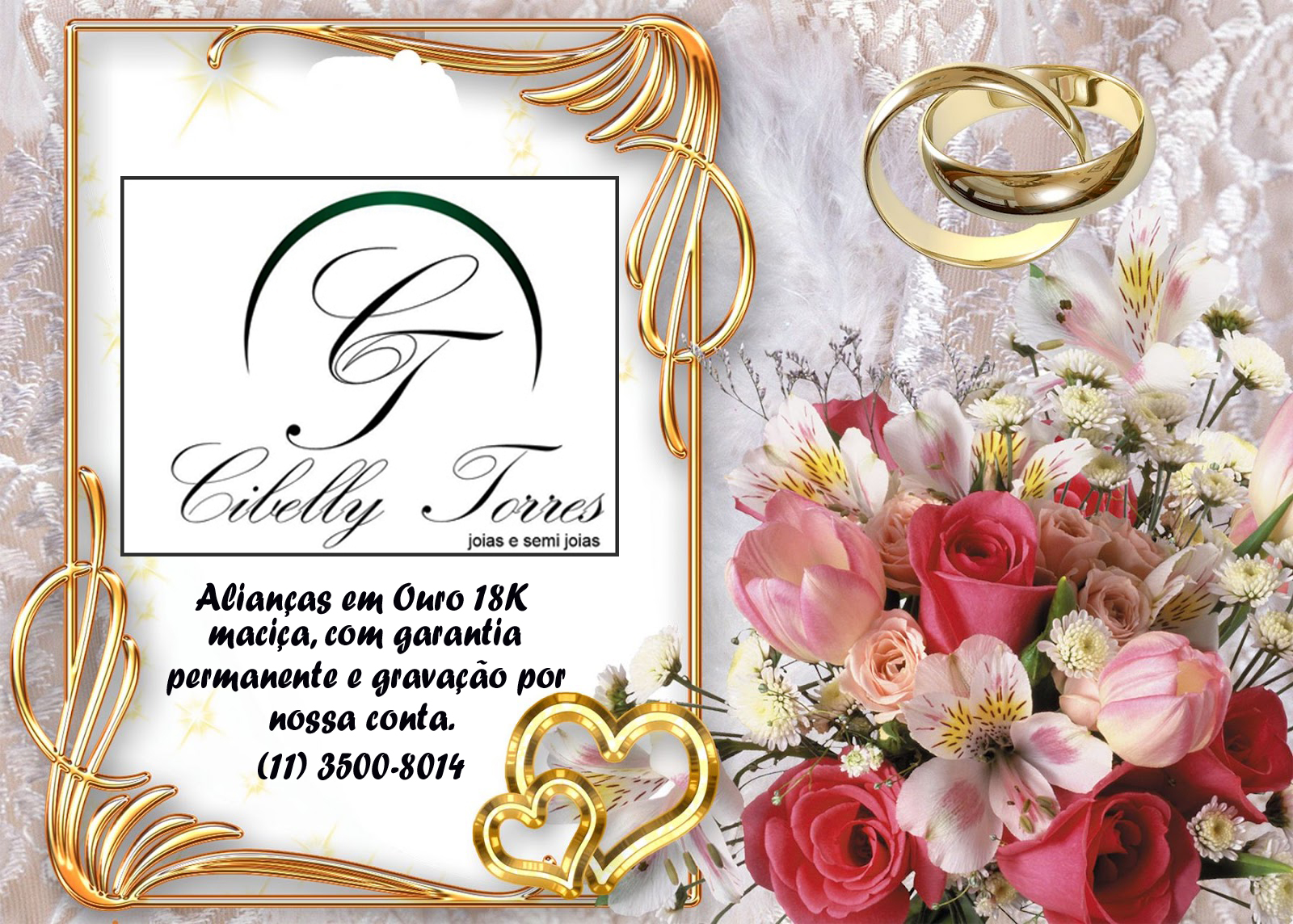 Cibelly Torres Jóias e Semi Jóias - Shopping Atrium. (11) 3500-8014