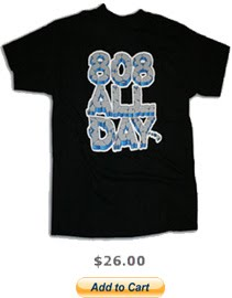 808ALLDAY CRACKED LOGO TEE
