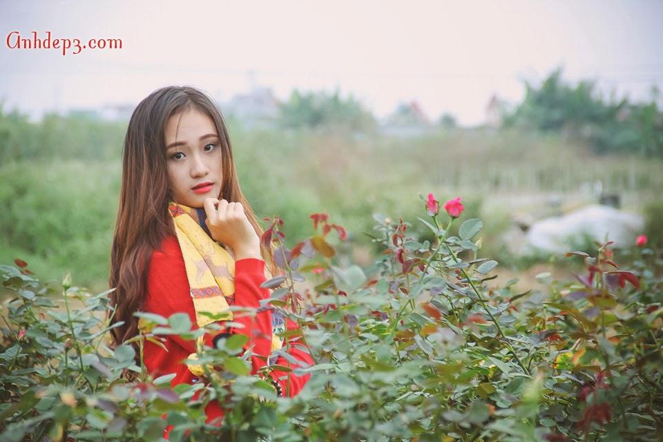 Vẻ đẹp hot girl nữ sinh viên đất cảng Hải Phòng