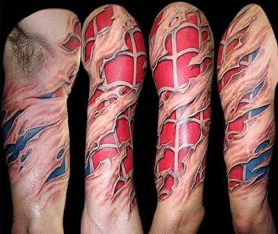 fotos e imagens de Tatuagens no Braço