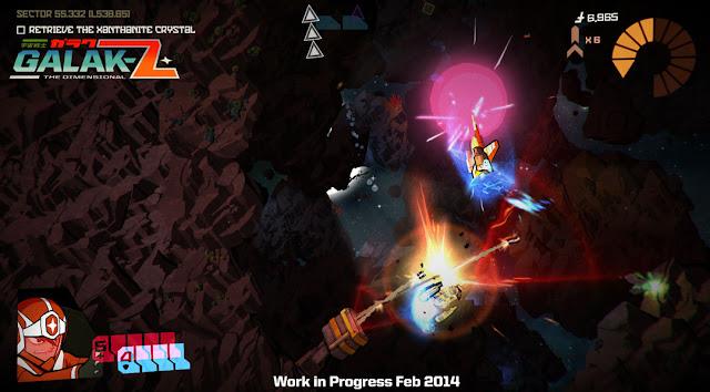 Nuevo tráiler del shooter Galak-Z, cerca ya del final de su desarrollo.