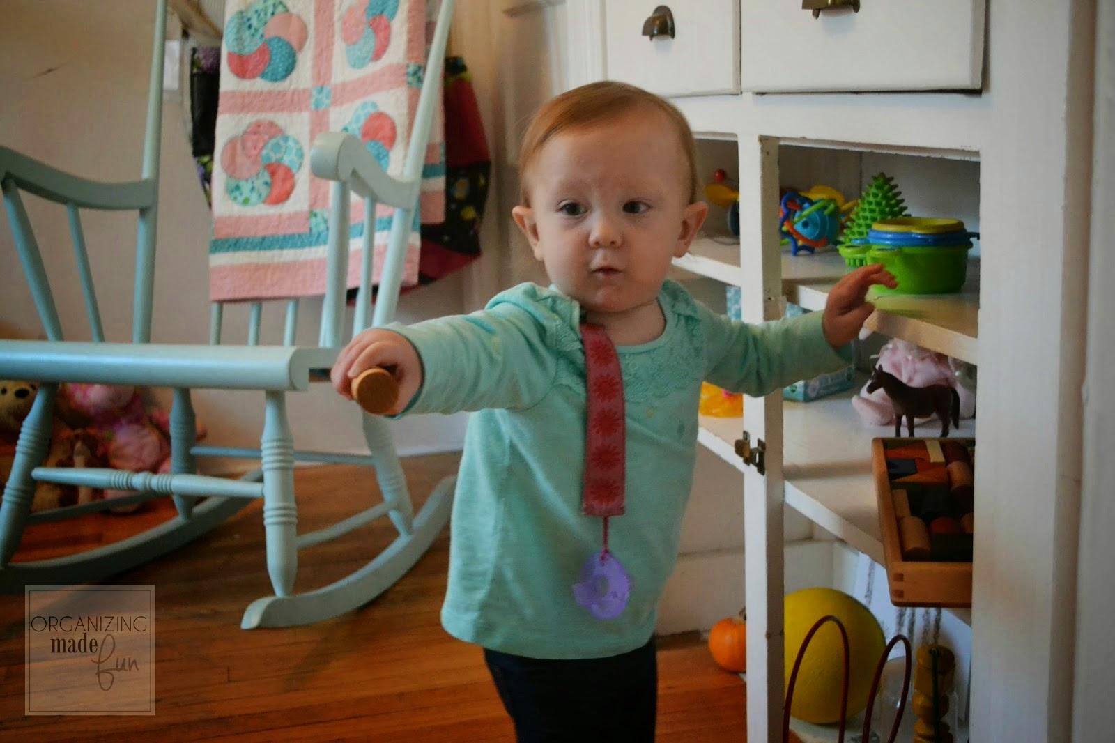 How to Organize Toddler's Toys :: OrganizingMadeFun.com