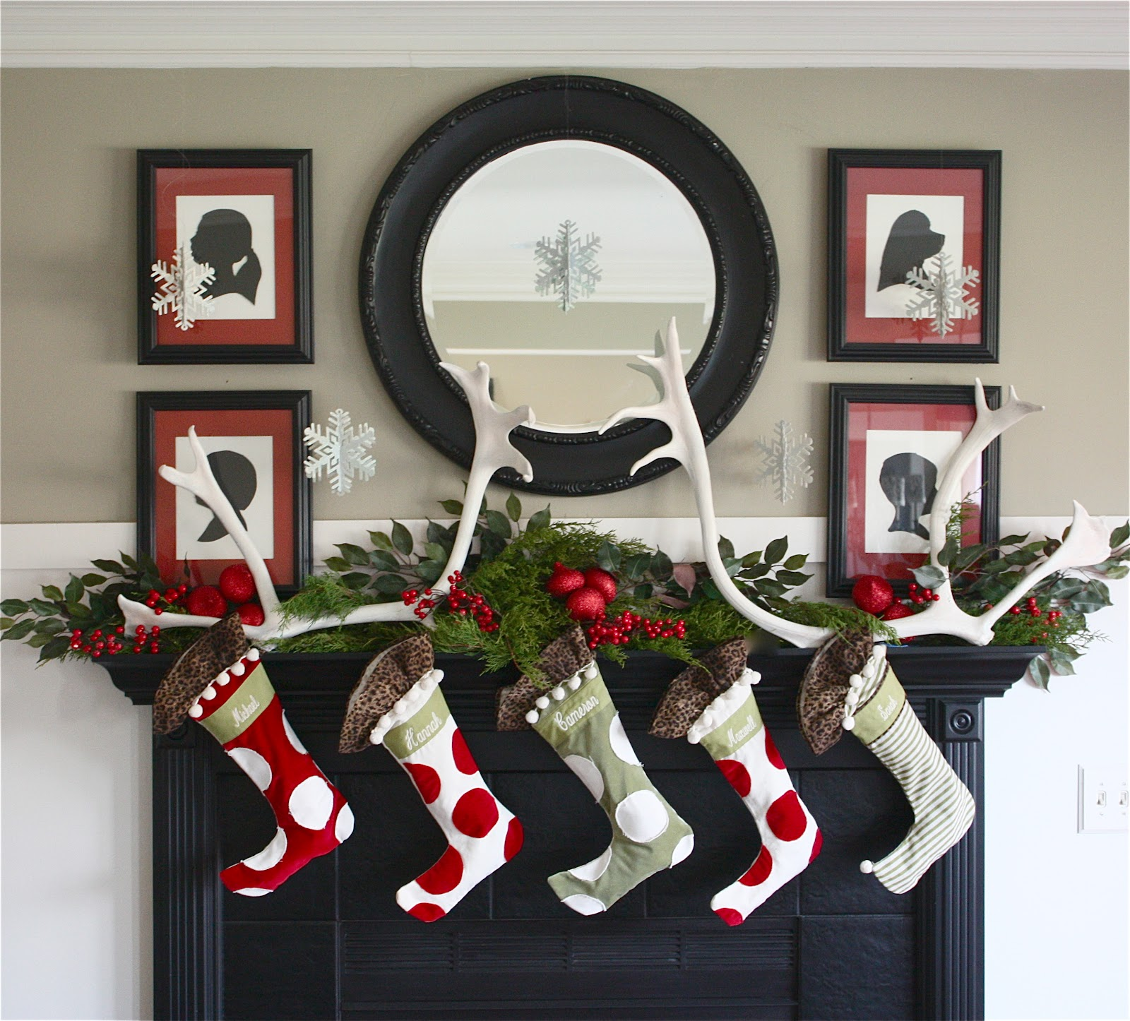Christmas Mantel At BHG {Seasonal Decor Confusion}