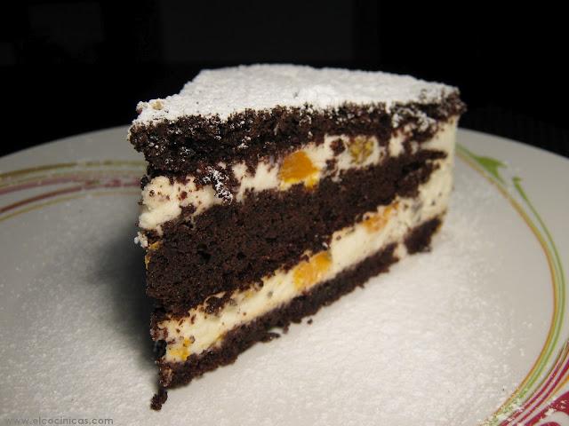 Tarta de mandarinas. Recetas de tartas. El Cocinicas