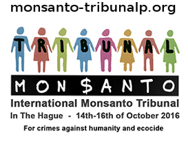 Help us to make the Monsanto Tribunal successful
