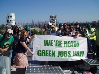 create green jobs, green product, enviromental benefits