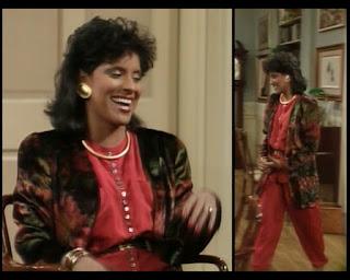 Cosby Show Huxtable fashion blog 80s sitcom Phylicia Rashad