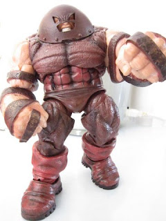 Marvel Legends Diamond Select X-men X-Force- Juggernaut Spider-man