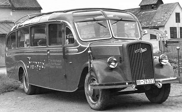 transpress nz opel blitzbus 1940s. Black Bedroom Furniture Sets. Home Design Ideas