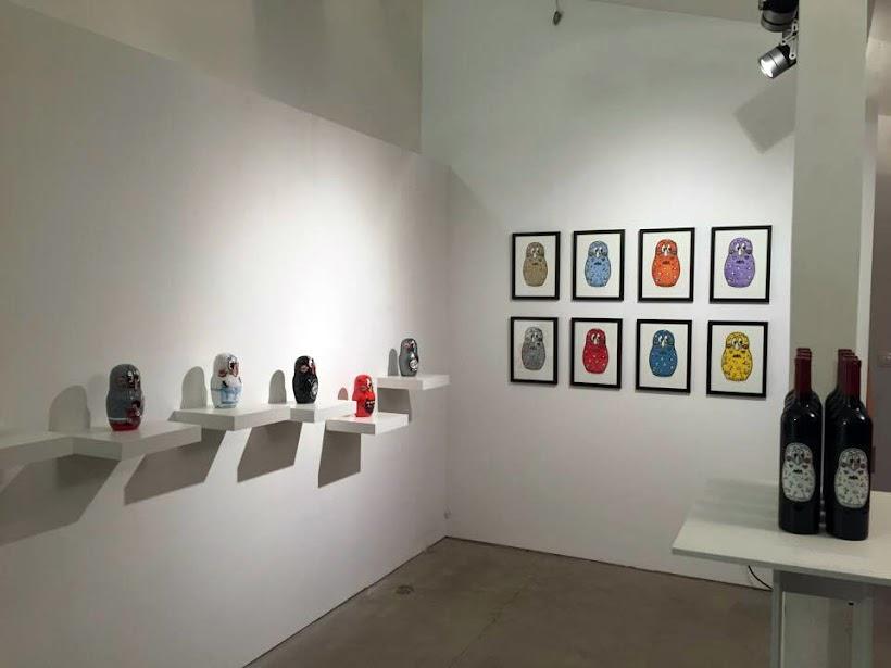 MATRYO$KA Exhibition by Kokimoto 2016, A+ Gallery Sofia, Bulgaria