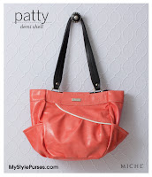 Miche Patty Demi Shell - Coral Pink Purse