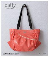 Miche Patty Demi Shell - Coral Pink Purse