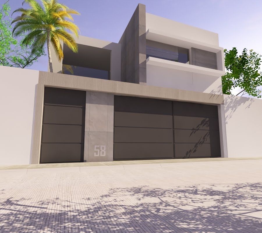 Proyectos arquitectonicos y dise o 3 d propuestas de for Proyectos minimalistas