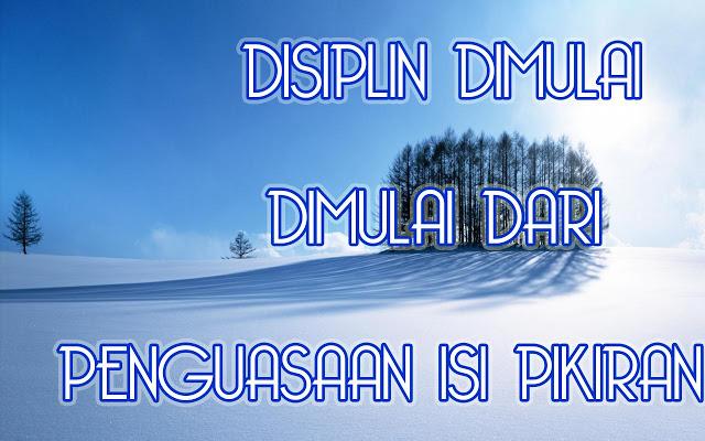Islamic Studies: DISIPLIN DIRI