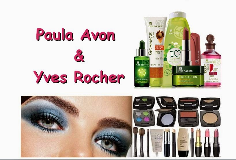 Parceria Avon e Yves Rocher - Paula Mano