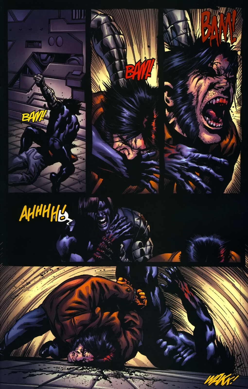 Read online Wolverine (2003) comic -  Issue #39 - 17