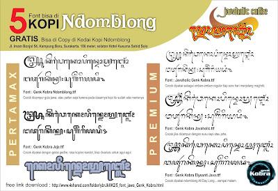download font Genk Kobra