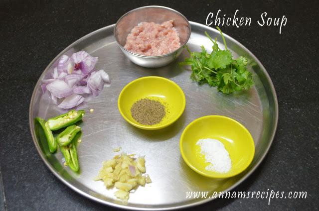 Chettinad Chicken Soup