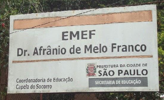 """E.M.E.F. """"Dr. Afrânio de Mello Franco""""40 anos"""