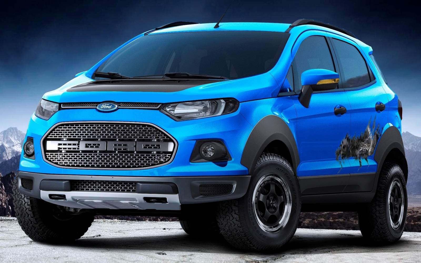 Ford ecosport storn