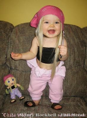 Cosplay Winry Criança