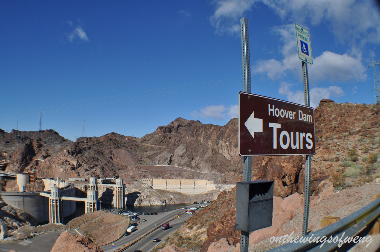 Onthewingsofweng hoover dam tour for Hoover dam motor coach tour