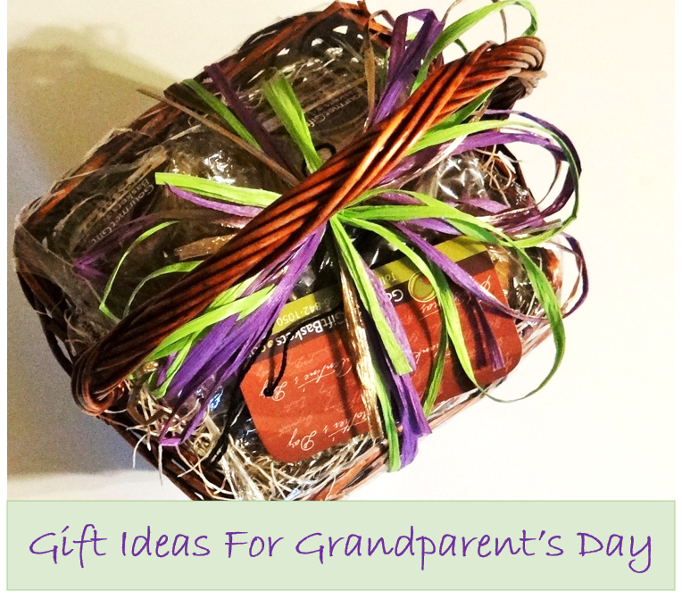 Baked Goods Sampler Basket and other Gift Ideas for Grandparents Day