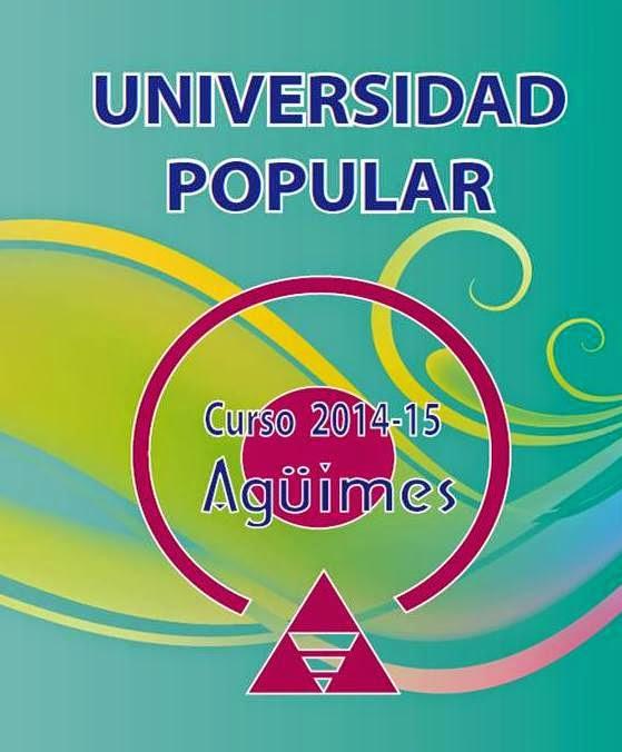 Universidad Popular de Agüimes Curso 2014-2015