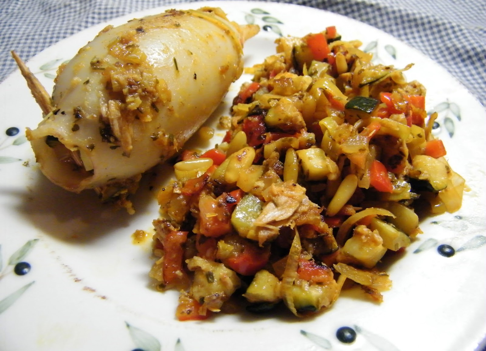 Como Cocinar La Sepia   Comer Rico Y Sano Sepia Rellena