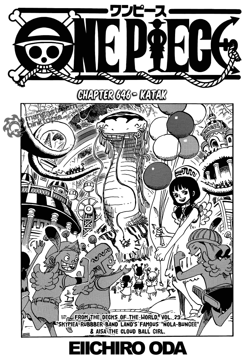 Page01 One Piece 646   Katak
