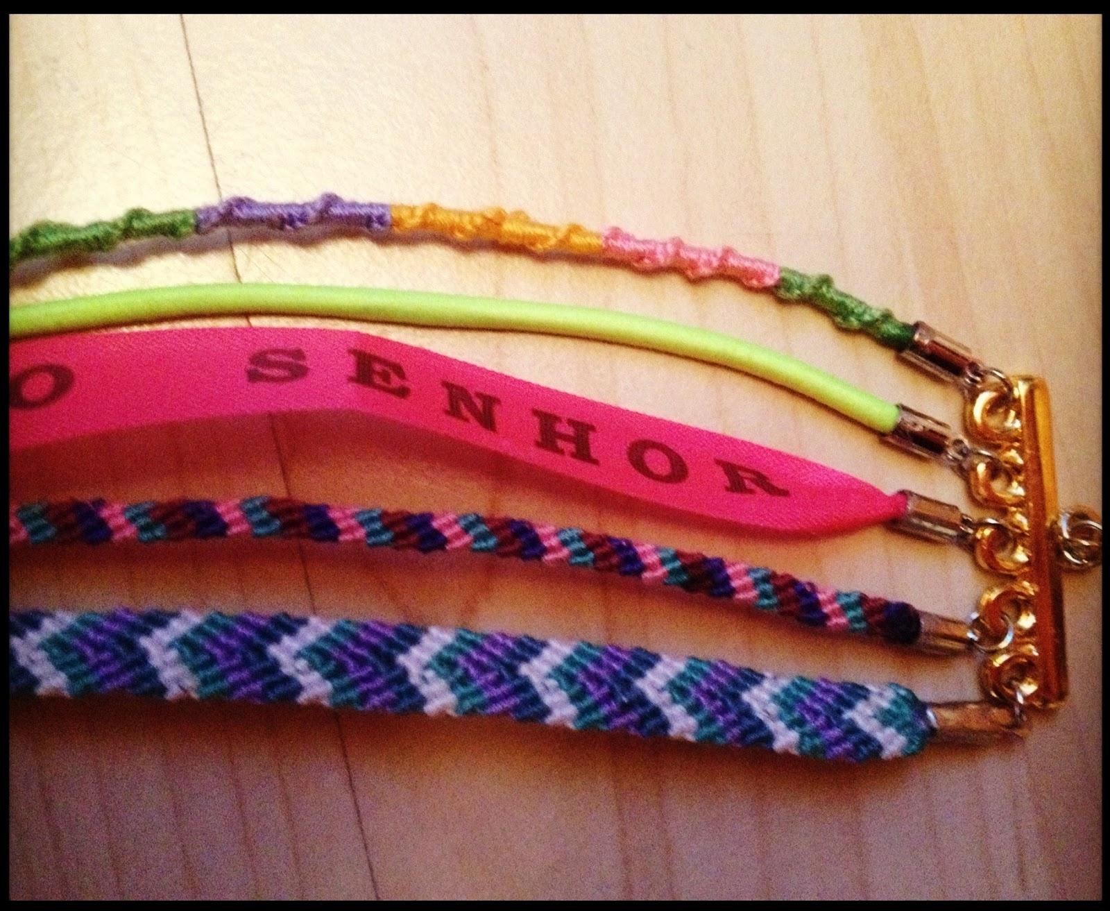 Diy La Manchette Bracelets Bresiliens Facon Hipanema Tuto