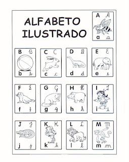 Alfabeto Ilustrado - Alfabeto para imprimir
