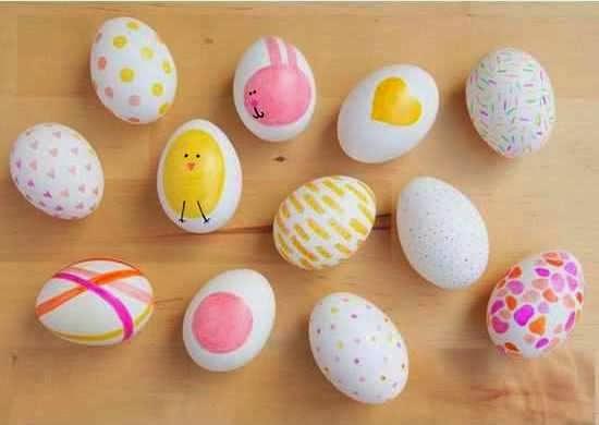 Widyaa: Membuat Kerajinan Tangan Aneka Telur Hias