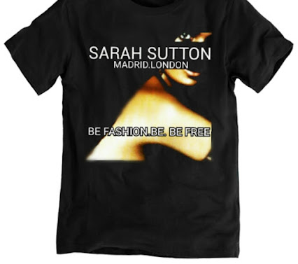 Exclusive T.shirt by Sarah Sutton