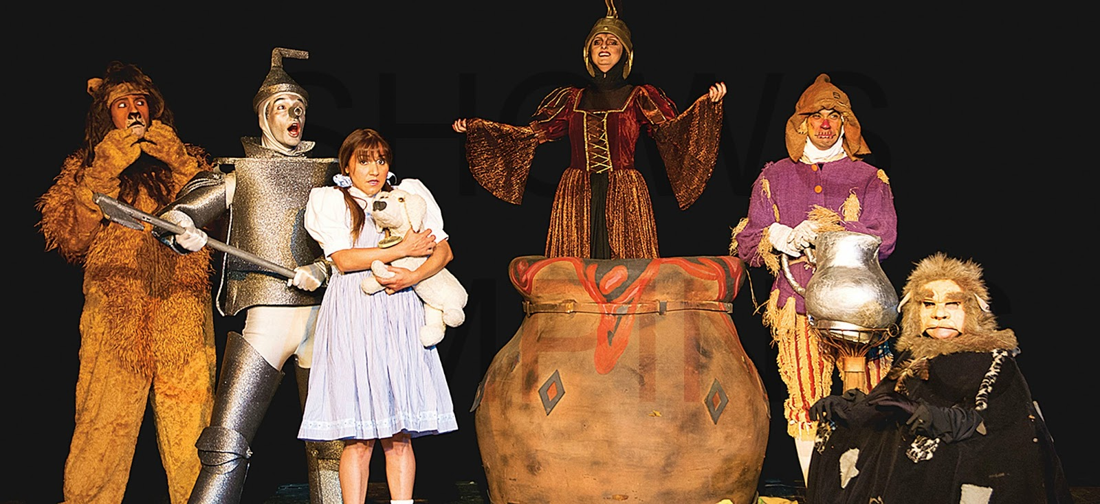 No Reino Mágico De Oz 19 20 E 24012016 Campinas