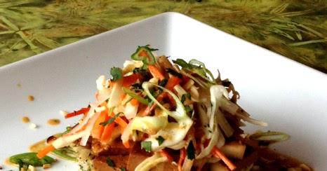 Thai Braised Tofu with Spicy Peanut Sauce   Leafy Greens ...