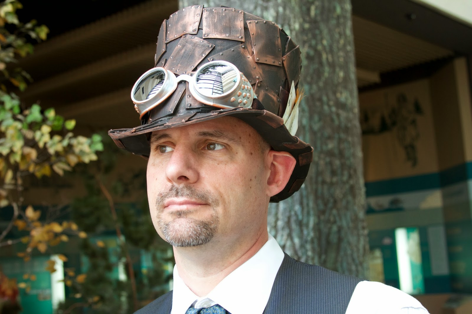 Steampunk costume details. Photos by Tammy Sue Allen Photography.