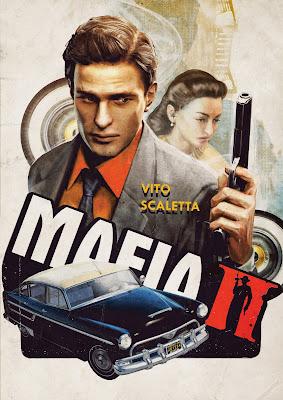 Mafia II poster vito sceletta