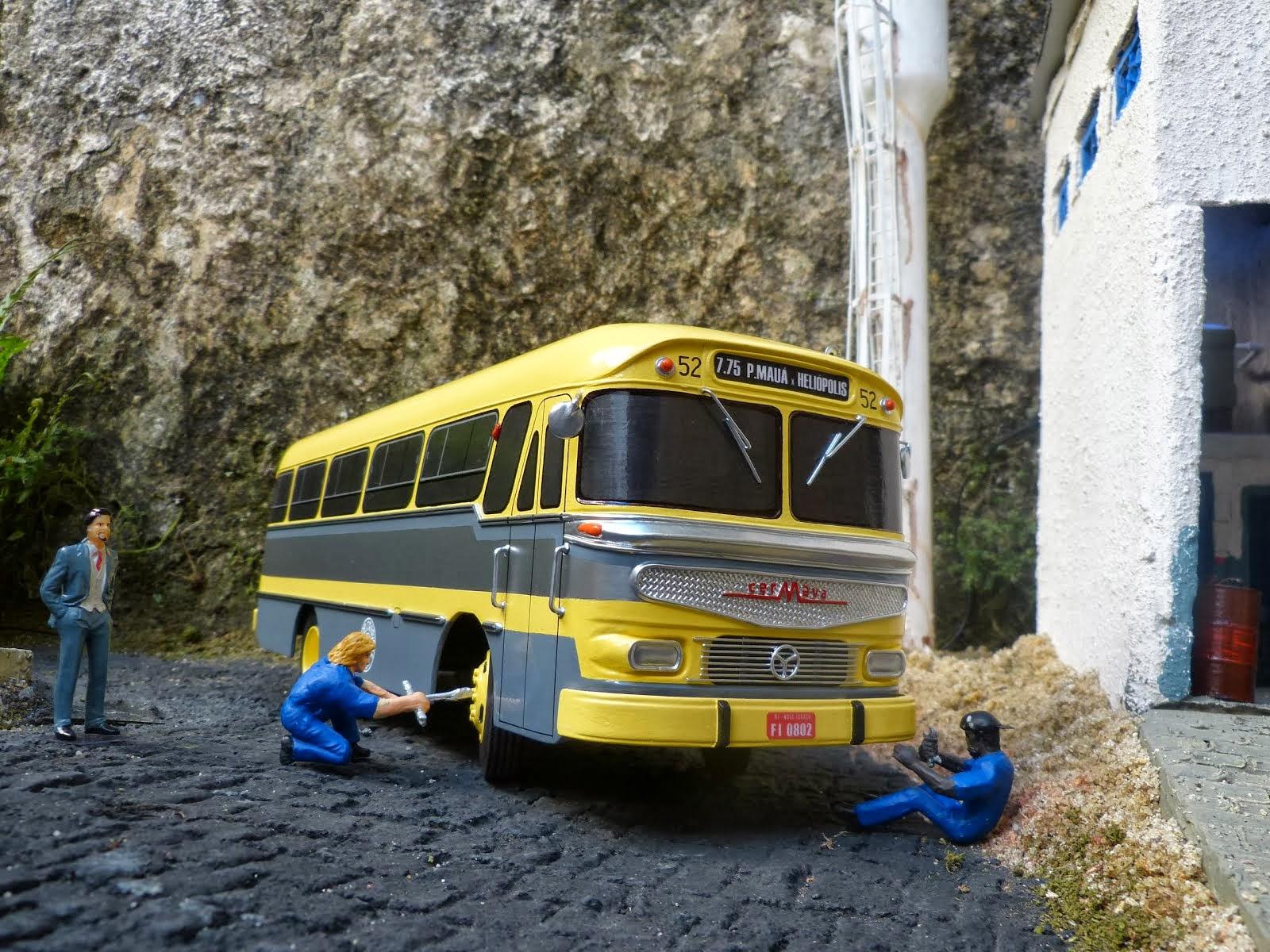 Miniatura do ônibus Cermava 3ª e ultima edição