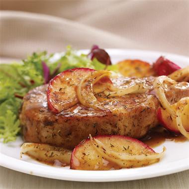 sage pork chop